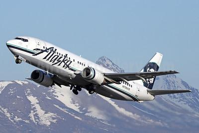 Alaska Airlines Boeing 737-490 N708AS (msn 28895) ANC (Michael B. Ing). Image: 933049.