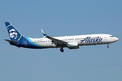 Alaska Airlines Boeing 737-990 ER SSWL N448AS (msn 36356) ANC (Michael B. Ing). Image: 932972.