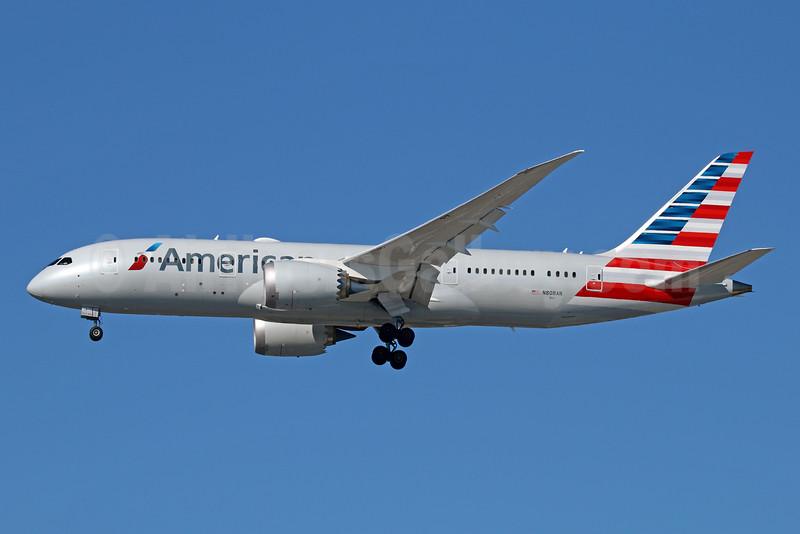 American Airlines Boeing 787-8 Dreamliner N808AN (msn 40626) LAX (Michael B. Ing). Image: