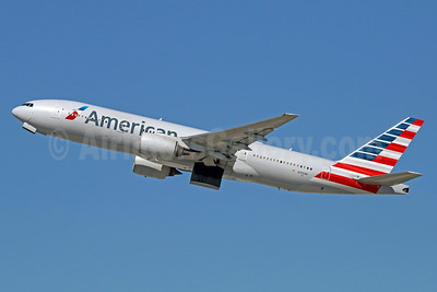 American Airlines Boeing 777-223 ER N755AN (msn 30263) LAX (Michael B. Ing). Image: 933330.