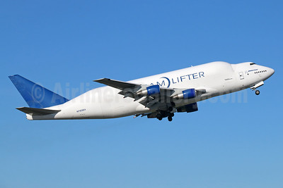 Boeing (Atlas Air) 747-409LCF DreamLifter N780BA (msn 24130) ANC (Michael B. Ing). Image: 932975.