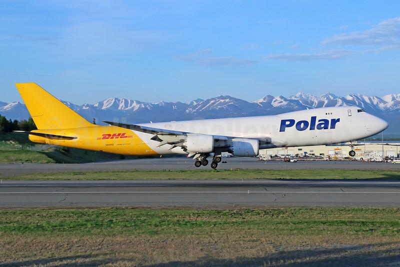 DHL-Polar Air Cargo Boeing 747-87UF N856GT (msn 37561) ANC (Michael B. Ing). Image: 933016.