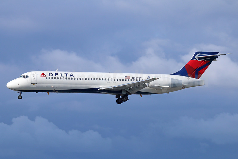 Delta Air Lines Boeing 717-2BD N997AT (msn 55141) LAX (Michael B. Ing). Image: 932554.