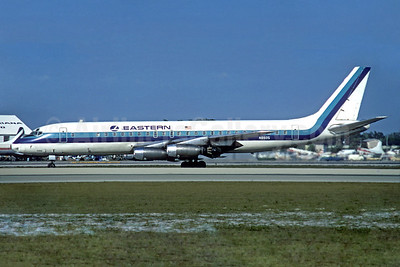 Eastern Airlines Douglas DC-8-21 N8605 (msn 45426) MIA (Jacques Guillem Collection). Image: 933073.