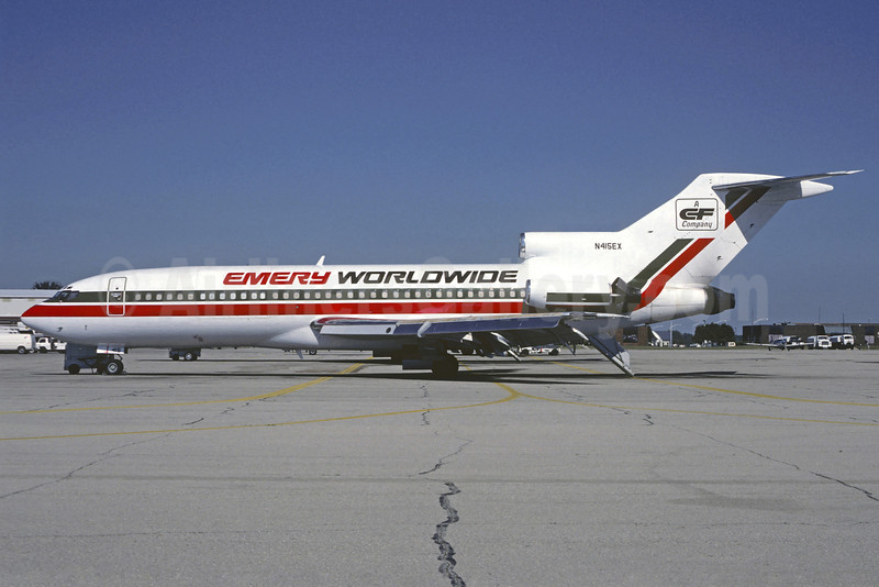 Airline Color Scheme - Introduced 1989 (CF)
