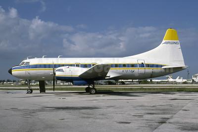 Airwing Convair 240-4 N707AW (msn 145) MIA (Bruce Drum). Image: 105415.