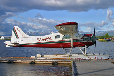 Alaska Air Taxi de Havilland Canada DHC-2 Beaver Mk. 1 N199BM (msn 589) ANC (Keith Burton). Image: 951928.
