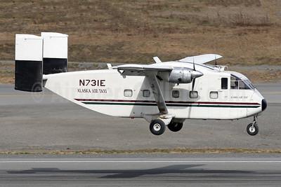 Alaska Air Taxi Shorts SC.7 Skyvan N731E (msn SH.1853) ANC (Brian McDonough). Image: 951927.