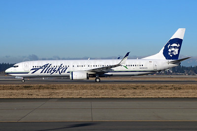 Alaska Airlines Boeing 737-990 ER SSWL N492AS (msn 44110) SEA (Michael B. Ing). Image: 938993.