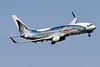 "Alaska Airlines Boeing 737-890 WL N559AS (msn 35178) ""Salmon-Thirty-Salmon"" (Wild Alaska Seafood) DCA (Brian McDonough). Image: 923084."