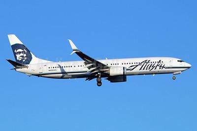 Alaska Airlines Boeing 737-990 ER SSWL N402AS (msn 41189) SEA (Michael B. Ing). Image: 936675.