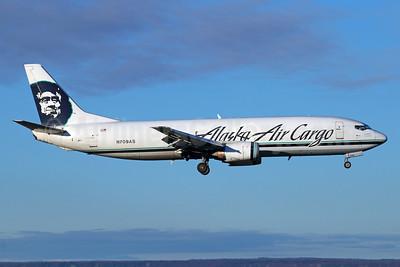 Alaska Air Cargo (Alaska Airlines) Boeing 737-490 (F) N709AS (msn 28896) ANC (Michael B. Ing). Image: 925099.