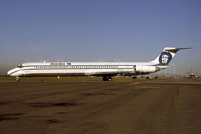 Alaska Airlines McDonnell Douglas DC-9-83 (MD-83) N935AS (msn 49236) SJC (Thomas Livsey). Image: 948160.