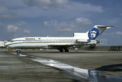 Alaska Airlines Boeing 727-90C N798AS (msn 19170) MIA (Bruce Drum). Image: 105182.