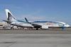 """The second Boeing 737 """"Salmon-Thirty-Salmon"""" logo jet"""