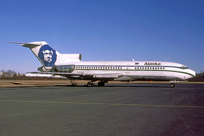 Alaska Airlines Boeing 727-21 N320AS (msn 18998) PAE (Bruce Drum Collection). Image: 948158.