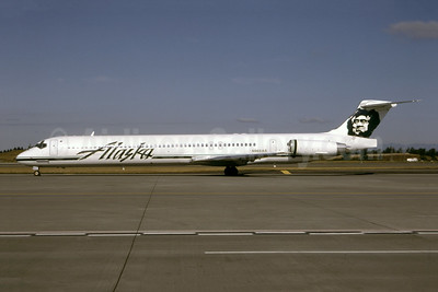 Alaska Airlines McDonnell Douglas DC-9-83 (MD-83) N968AS (msn 53016) SEA (Bruce Drum). Image: 105187.