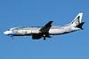 "Alaska Airlines Boeing 737-490 N792AS (msn 28887) ""Salmon-Thirty-Salmon"" (Wild Alaska Seafood) SEA (Bruce Drum). Image: 100994."