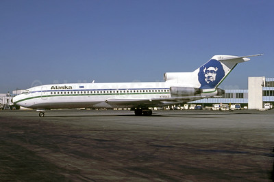 Alaska Airlines Boeing 727-27 N765AS (msn 19534) SEA (Bruce Drum). Image: 105181.