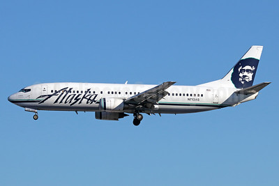 Alaska Airlines Boeing 737-490 N713AS (msn 30161) SEA (Michael B. Ing). Image: 938988.