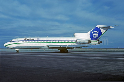 Alaska Airlines Boeing 727-90C N797AS (msn 19169) SFO (Christian Volpati Collection). Image: 929780.