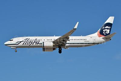 Alaska Airlines Boeing 737-890 WL N531AS (msn 35199) (Lei) LAS (Jay Selman). Image: 402704.