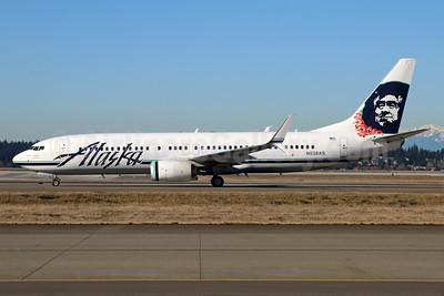 Alaska Airlines Boeing 737-890 SSWL N538AS (msn 41188) SEA (Michael B. Ing). Image: 938990.