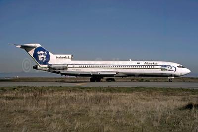 "Alaska's 1985 ""Seahawk 1"" special livery"