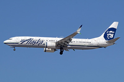Alaska Airlines Boeing 737-990 ER SSWL N483AS (msn 36350) LAX (Michael B. Ing). Image: 936677.