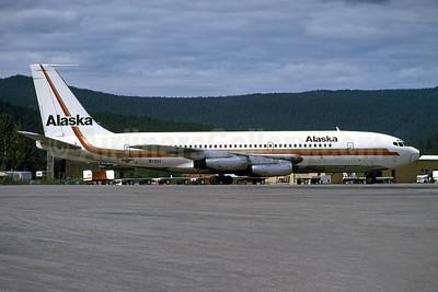 Alaska Airlines Boeing 720-062 N720V (msn 18376) JNU (Bruce Drum). Image: 101369.