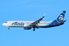 Alaska Airlines Boeing 737-8FH SSWL N549AS (msn 30824) LAX (Michael B. Ing). Image: 936376.
