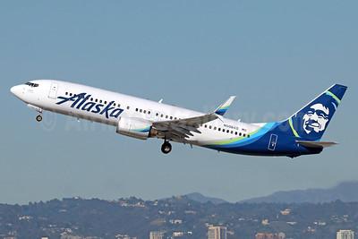 Alaska Airlines Boeing 737-890 SSWL N508AS (msn 35691) LAX (Michael B. Ing). Image: 937048.