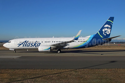 Alaska Airlines Boeing 737-890 SSWL N527AS (msn 35694) SEA (Michael B. Ing). Image: 937050.