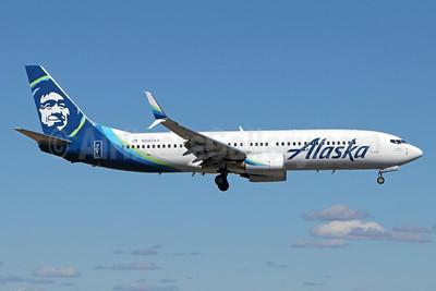 Alaska Airlines Boeing 737-890 SSWL N593AS (msn 35107) ANC (Michael B. Ing). Image: 938718.