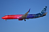 """Alaska Airlines' """"More to Love"""" merger livery"""