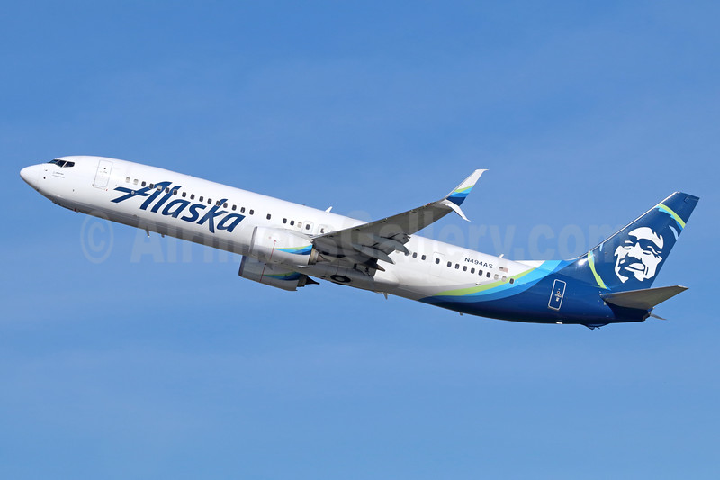Alaska Airlines Boeing 737-990 ER SSWL N494AS (msn 41729) SEA (Michael B. Ing). Image: 937297.