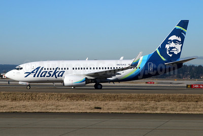 Alaska Airlines Boeing 737-790 WL N615AS (msn 30344) SEA (Michael B. Ing). Image: 937044.