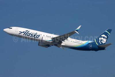 Alaska Airlines Boeing 737-900 ER SSWL N298AK (msn 60583) LAX (Michael B. Ing). Image: 955101.