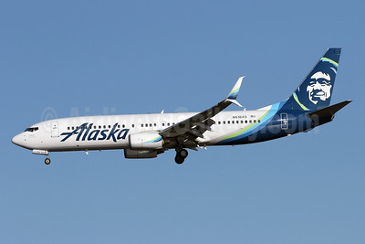 Alaska Airlines Boeing 737-890 SSWL N518AS (msn 35693) DCA (Brian McDonough). Image: 941164.