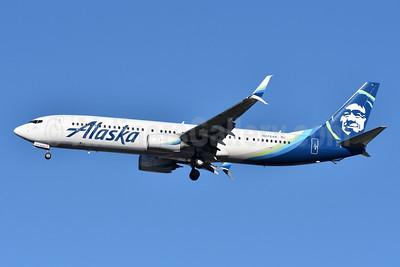 Alaska Airlines Boeing 737-900 ER SSWL N278AK (msn 44113) JFK (Fred Freketic). Image: 944205.