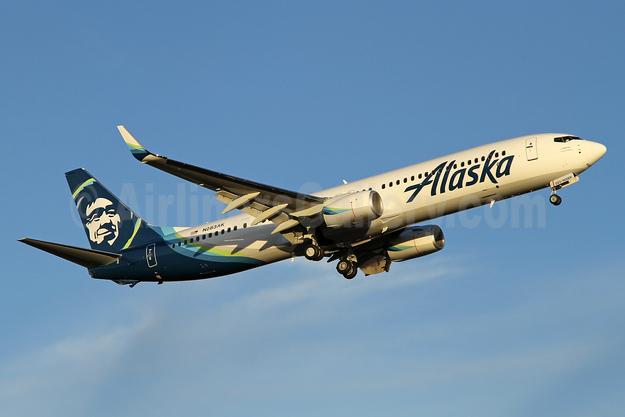 Alaska Airlines Boeing 737-900 ER WL N283AK (msn 36358) PAE (Nick Dean). Image: 940240.