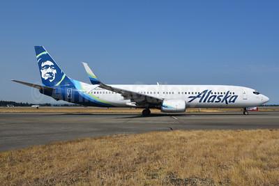 Alaska Airlines Boeing 737-990 SSWL N306AS (msn 30014) SEA (Bruce Drum). Image: 104697.