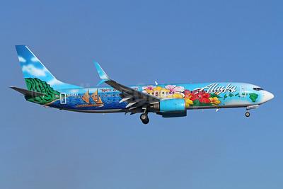 "Alaska's 2013 ""Spirit of the Islands"" special livery"