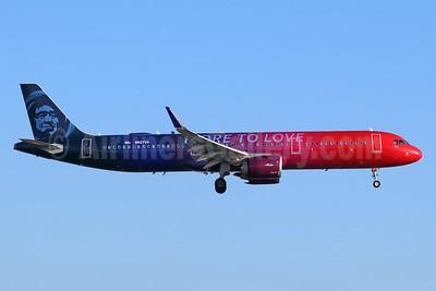 Alaska Airlines Airbus A321-253N WL N927VA (msn 8126) LAX (Michael B. Ing). Image: 942652.