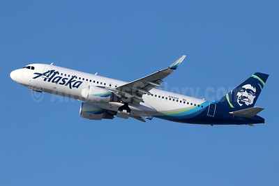 Alaska Airlines Airbus A320-214 WL N363VA (msn 7063) LAX (Michael B. Ing). Image: 944026.