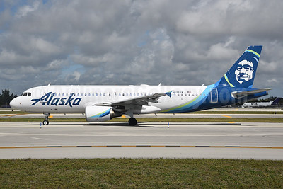 Alaska Airlines (current livery - Airbus) - Bruce Drum