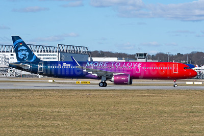 "The Airbus A321neo ""More to Love"" logo jet"