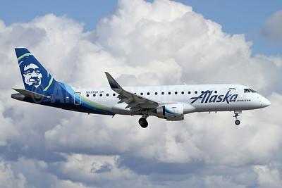 Alaska Horizon (Horizon Air) Embraer ERJ 170-200LR (ERJ 175) N639QX (msn 17000760) PAE (Nick Dean). Image: 945983.
