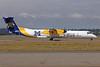 Alaska Horizon (Horizon Air) Bombardier DHC-8-402 (Q400) N403QX (msn 4037) (Montana State Bobcats) SEA (Michael B. Ing). Image: 908807.