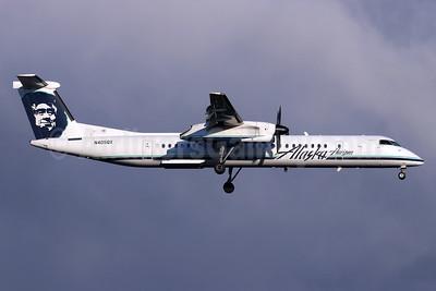 Alaska Horizon (Horizon Air) Bombardier DHC-8-402 (Q400) N405QX (msn 4047) SEA (Michael B. Ing). Image: 946446.